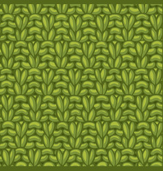 double moss stitch pattern vector image
