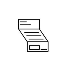 Invoice icon vector