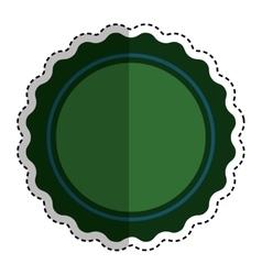 isolated ribbon award vector image