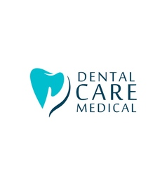 Logo dental care clinic dentistry for kids Teeth vector