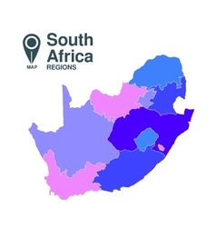 Map south africa vector