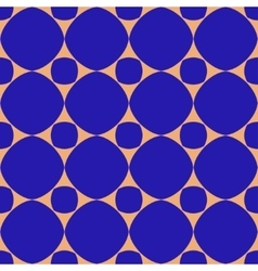 Polka dot geometric seamless pattern 2503 vector image