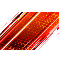 technological background of bee honeycombs vector image