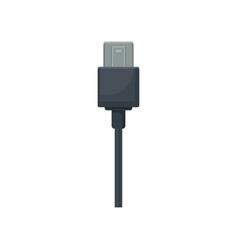 usb universal serial bus connector with black vector image