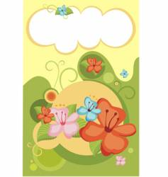 flower vector image vector image