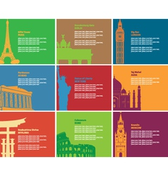 historic Sites vector image
