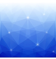 Abstract Blue Polygonal Background for Design vector