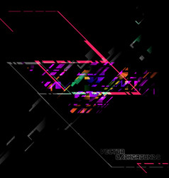 Abstract colors geometry shape vector
