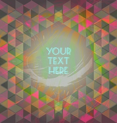 Abstract dark red and green design with your text vector
