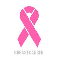 breast cancer awareness month design pink vector image