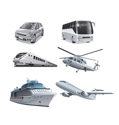 Different mode of transport vector