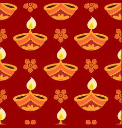 Diwali festival pattern vector
