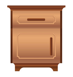 Family nightstand icon cartoon style vector