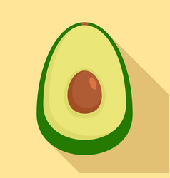 guacamole icon flat style vector image