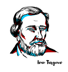 Ivan turgenev vector