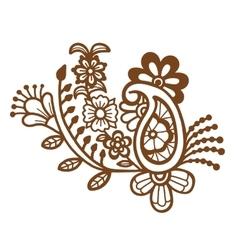 Mehndi design Patterns vector image