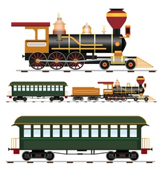 Steam train vector