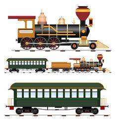steam train vector image