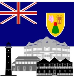 Turks and Caicos Islands vector