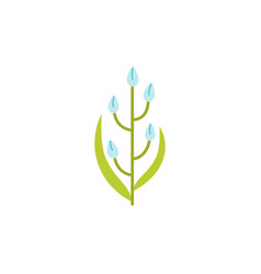 universal flower icon to use in web and mobile ui vector image