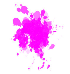 blots vector image vector image