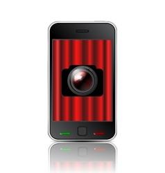 camera application vector image
