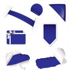 shop sale elements purple vector image vector image