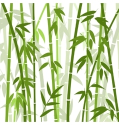 Chinese or japanese bamboo grass oriental vector image vector image