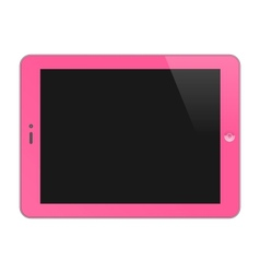 Realistic Concept Of Tablet PC Blank Screen vector image