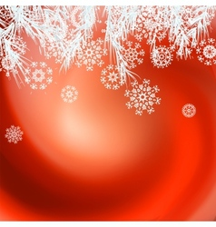 Abstract Christmas background EPS8 vector image vector image