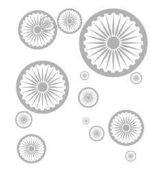 badge seamless pattern design vector image