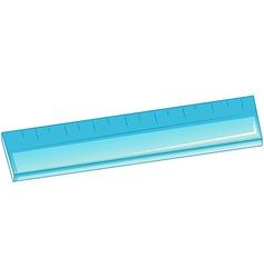 A blue ruler vector