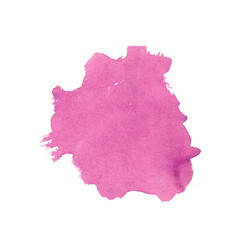 Abstract pink hand painted watercolor texture vector