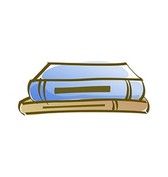 Icon book vector