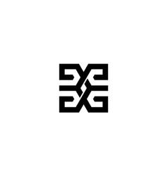 letter g logo design concept vector image
