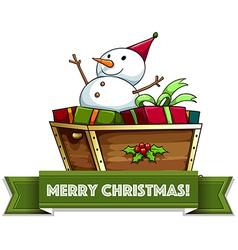 Merry Christmass vector