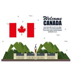 Ottawa canada cityscape scene vector