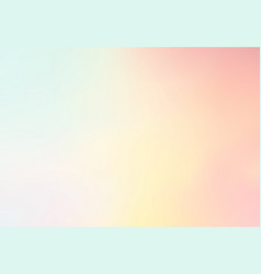 Pastel multi color gradient backgroundsimple vector
