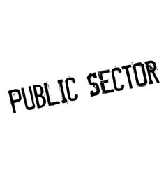 Public sector rubber stamp vector