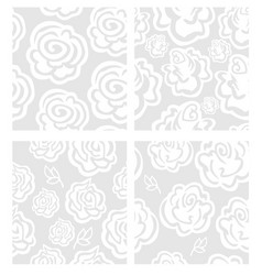 rosa pattern vector image