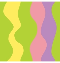 Seamless colorful striped background vector image