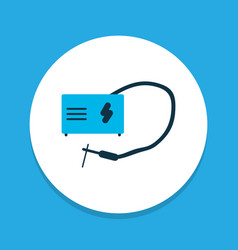 welding icon colored symbol premium quality vector image
