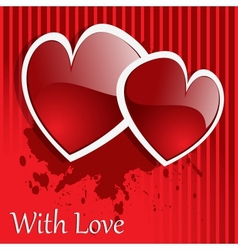 background day valentine vector image vector image