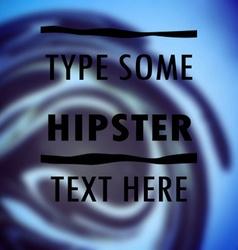 Paint blur vintage vector image