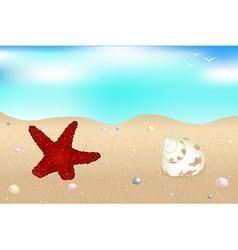 Seaside vector image