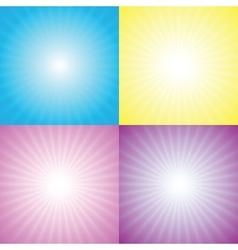 Starburst sunburst vector