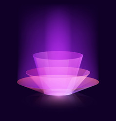 stylish magical effect design virtual vector image vector image