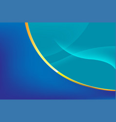 abstract blue line curve background vector image