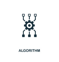 Algorithm icon premium style design from vector