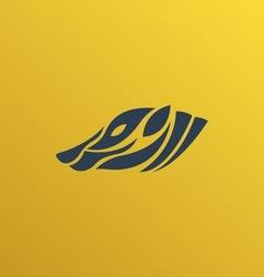 Badger logo vector image